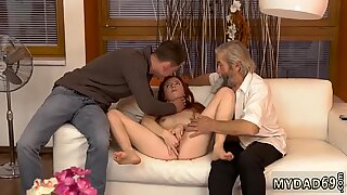 Old man young girl cumshot Unexpected practice with an older gentleman