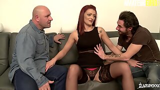 La Cochonne - Lola Candy Mature French Girl Gets Her Pussy Fucked By Two Big Cocks