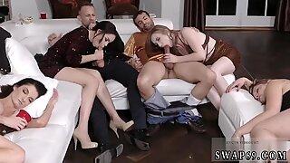 Hot milf kitchen sex New Year New Swap