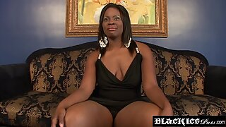 Hardcore hammering with BBW Ebony and monster stud