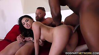 Cuckold Shares His Wife Cindy Starfall With His Black Friend