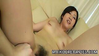 Yumi Shibutani - Skinny JAV Wife Plugged And CreamPied