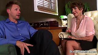 MILF sexologist fucks her patient by SixtyPlusMilfs