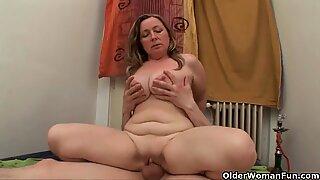 mummy's big tits need a jizz covering