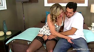 Dicked Dude Banged a Mature Lady - Lady A.