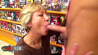 Nanny likes to have sex with boys !