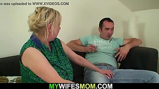 His horny old mother in law
