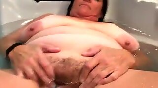 Big Hairy Wife Exposed By Her Husband For Men To Get Off