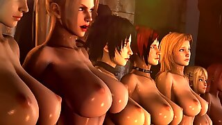SECRET SEX DESIRES WITH MONSTER,3D ACTION, Part 2.
