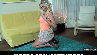 Big tit blonde Mia Angel gets fucked