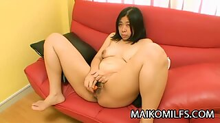 Haruka Fukuda Chubby Japan Mom Pleasing A Cock